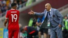 مدرب روسيا مشيداً بالأخضر: يلعبون مثل  تشيلي