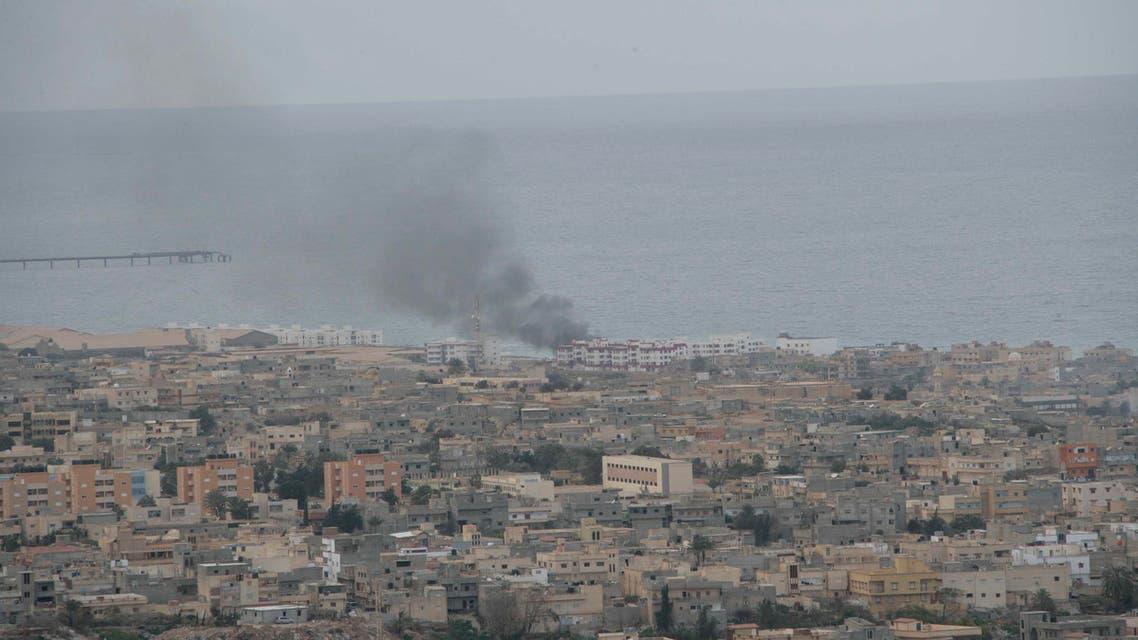 Derna, Libya. (AP)