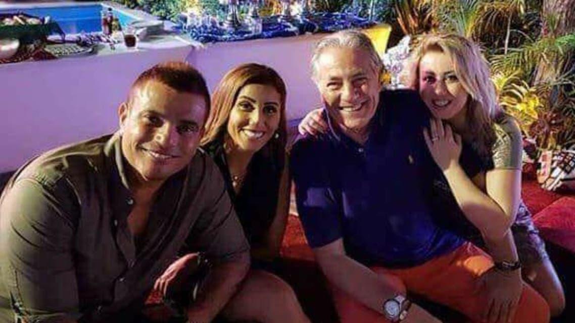 عمر دياب ودينا الشربيني