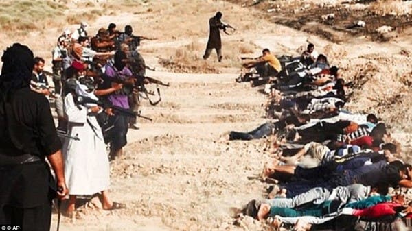 العراق.. الحكم بإعدام 14 مداناً بمجزرة سبايكر