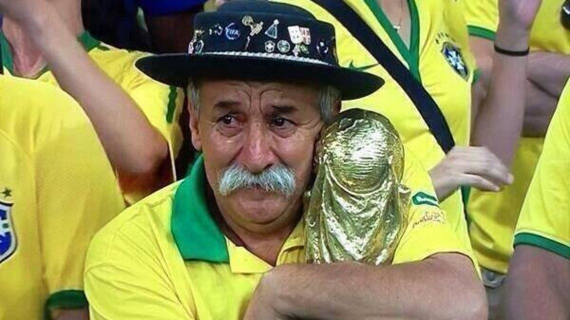 صورة أكوستا الشهيرة في مباراة البرازيل وألمانيا