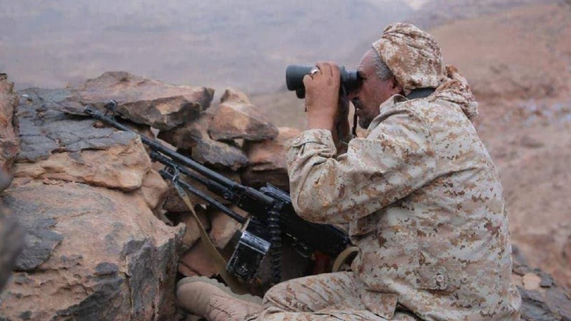 الجيش اليمني في جبهة نهم شرق صنعاء