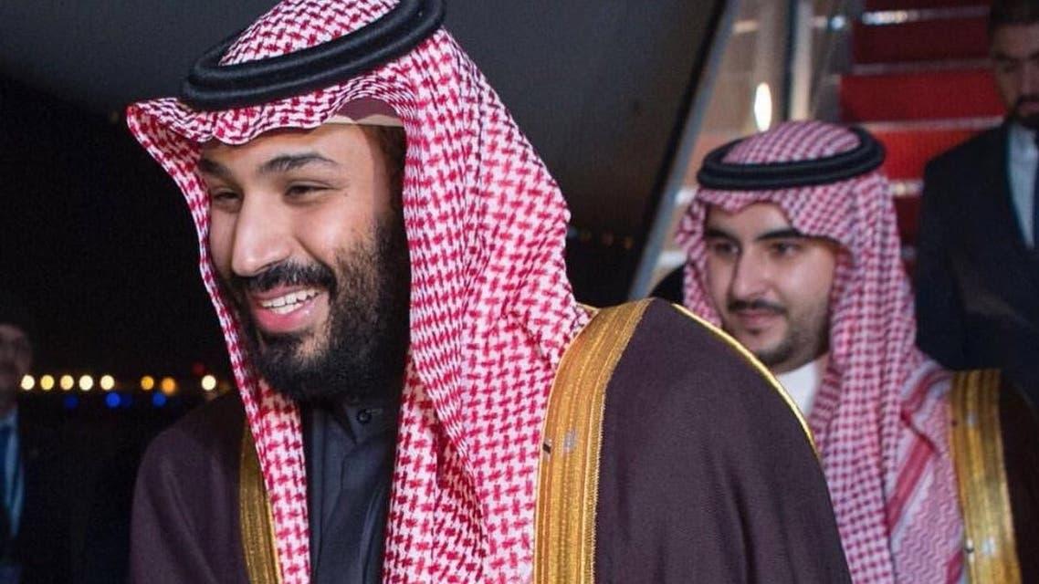 الأمير محمد بن سلمان والأمير خالد بن سلمان