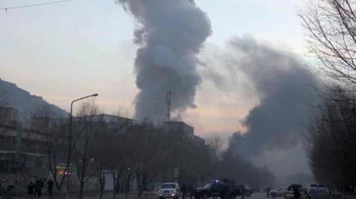 حمله مهاجمان انتحاری به ریاست معارف ننگرهار افغانستان