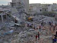 المرصد: مقتل 9 مدنيين بينهم مسعفون في غارات على إدلب