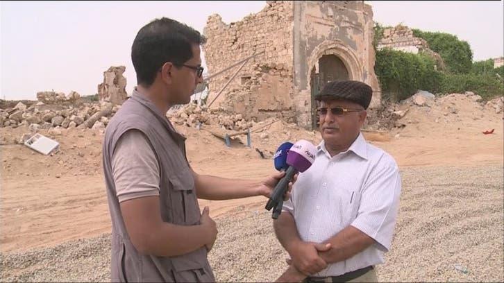 الصور الأولى للدمار في ميدي اليمنية المحررة