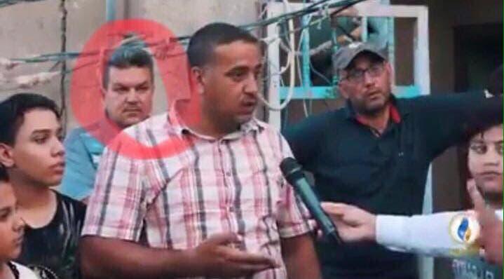 الشرطي ظهر في حادث احتراق ذخائر في مدينة الصدر