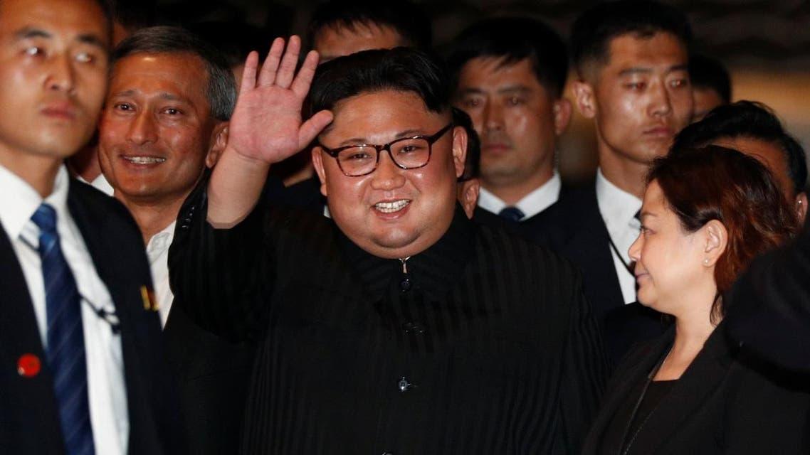 North Korea's leader Kim Jong Un visits The Marina Bay Sands hotel in Singapore. (Reuters)
