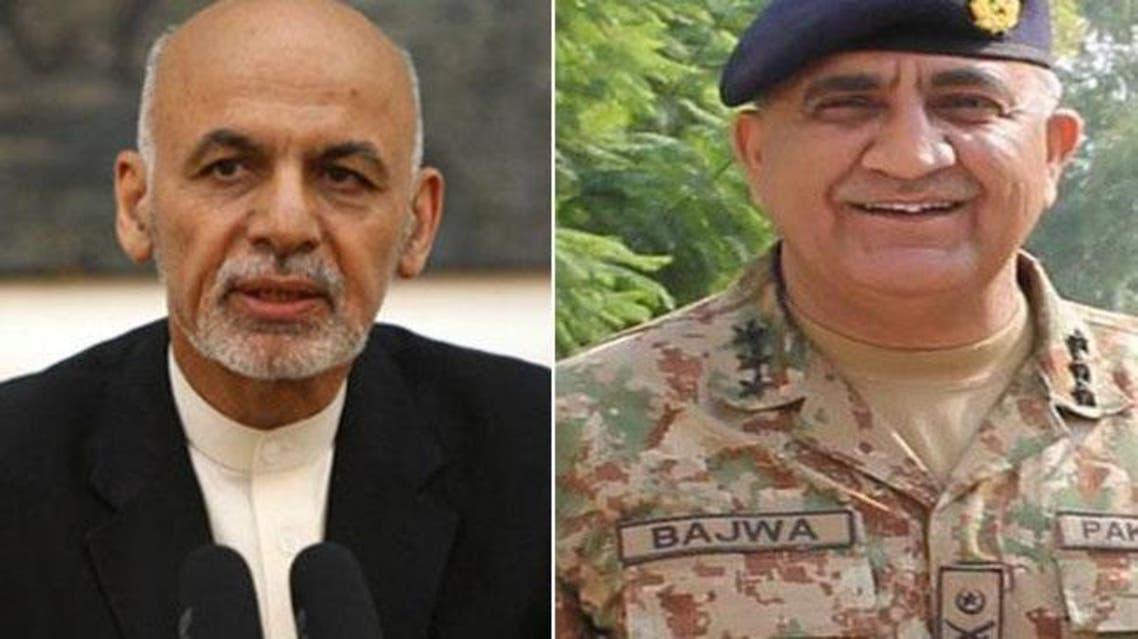 رییسجمهوری افغانستان با رییس ارتش پاکستان در کابل دیدار کرد