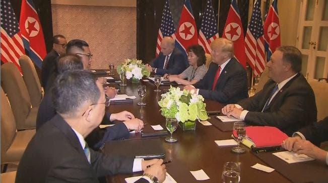 مشهد من الاجتماع الموسع