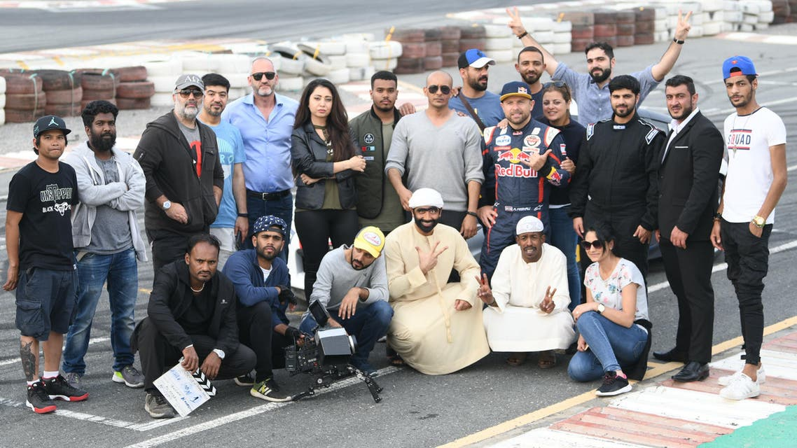 The team worked across 15 locations with a cast of over 50 actors and stuntmen from the UAE, KSA, and Iraq, as well as on-site experts. (Supplied)