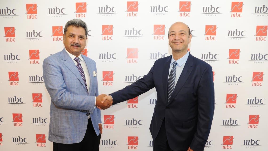 عمرو أديب ومحمد عبد المتعال