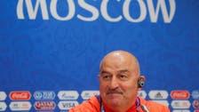 مدرب روسيا: جاهزون لتخطي عقبة المنتخب السعودي