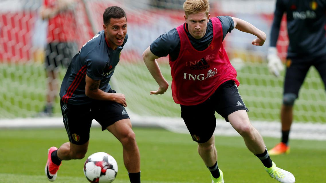 Belgium play Panama in their Group G opener on Monday, before taking on Tunisia and England. (Reuters)