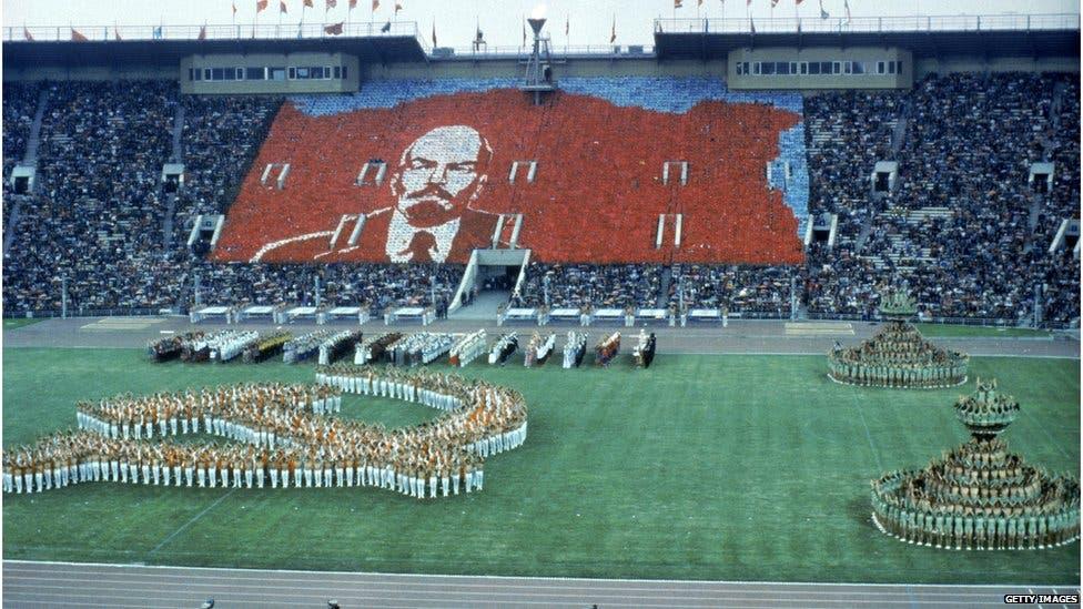افتتاح أولمبياد 1980