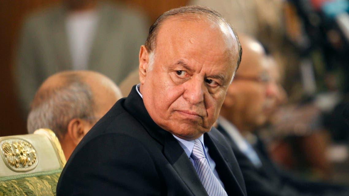 Yemeni President Abd Rabbu Mansour Hadi (Reuters)