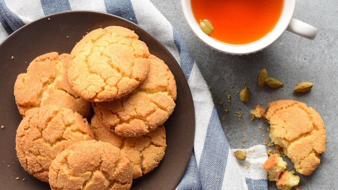 What t 'naankhatai' has in common with other Eid cookies is its rich buttery composition, but with the unique characteristic of being eggless. (Supplied)
