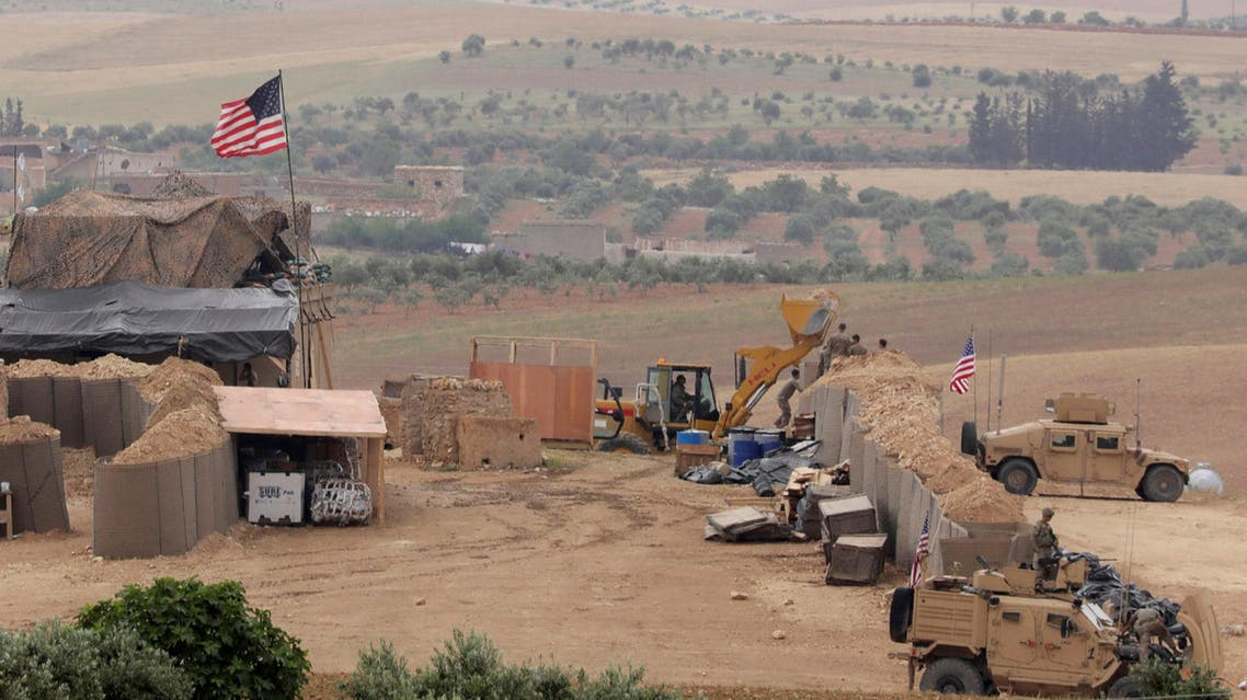 The two countries said on June 4 they had endorsed a roadmap which envisages the withdrawal from Manbij of the Kurdish YPG militia. (Reuters)