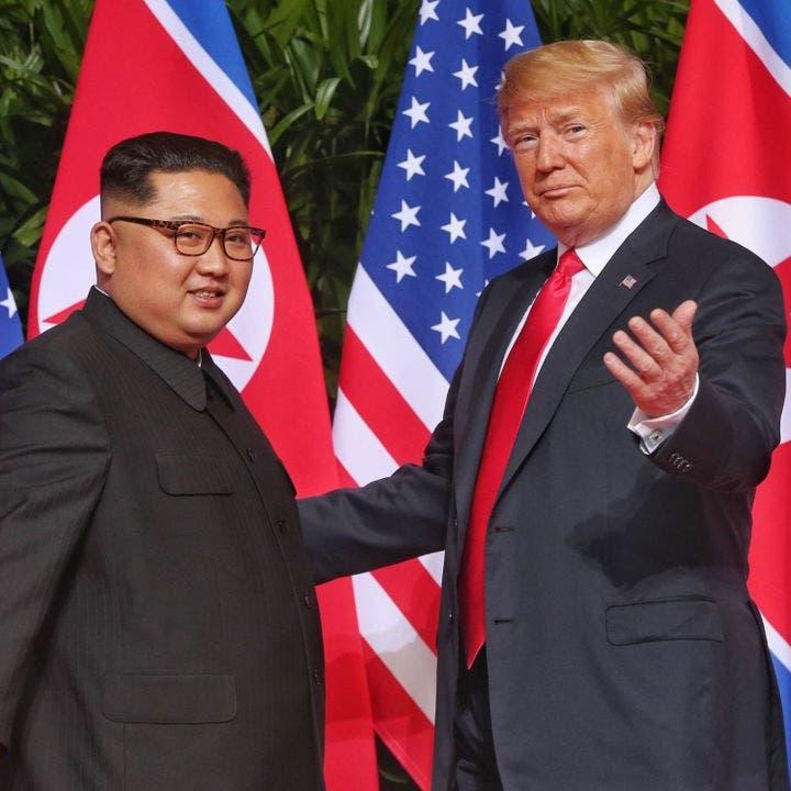 """قبيل لقائه كيم.. ترمب يغازل  كوريا """"لديهم مستقبل رائع"""""""