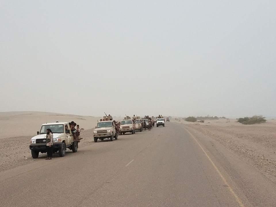 قوات الشرعية اليمنية تتقدم باتجاه مدينة الحديدة