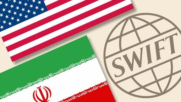 """نظام """"سويفت"""" الدولي يفرض عزلة على بنوك إيرانية"""