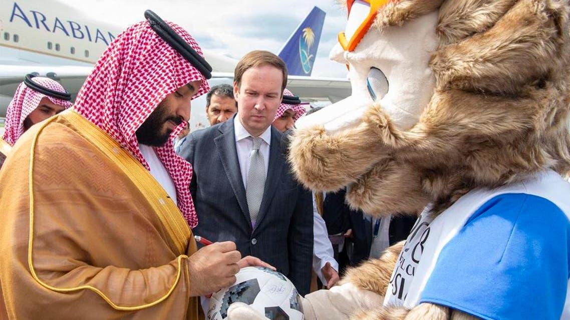 saudi crown prince world cup