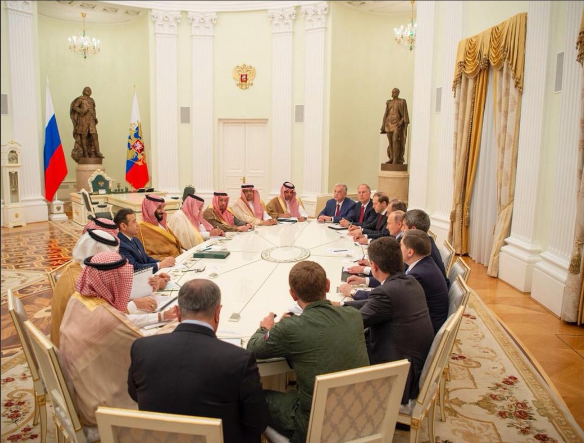 دیدار هیاتهای سعودی و روسی