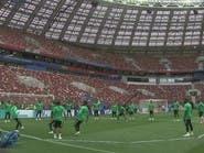 الأخضر يعود بعد غياب 12 عاماً لافتتاح مونديال روسيا