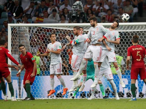 رونالدو يسدد.. دي خيا يتفرج.. والبرتغال تكسب نقطة ثمينة