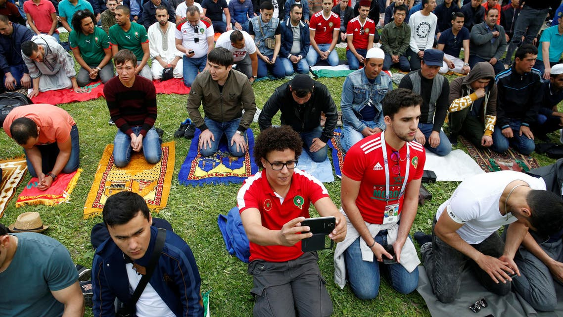 muslim fans in world cup 2018 (Reuters)