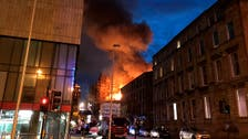IN PICTURES: Blaze rips through one of world's top art schools in Glasgow