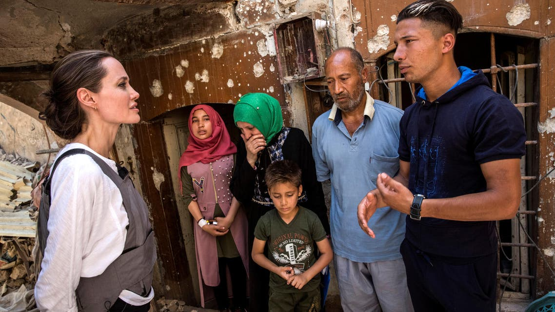 angelina jolie mosul iraq (Reuters)