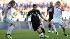 Messi misses penalty as Argentina held by Iceland 1-1