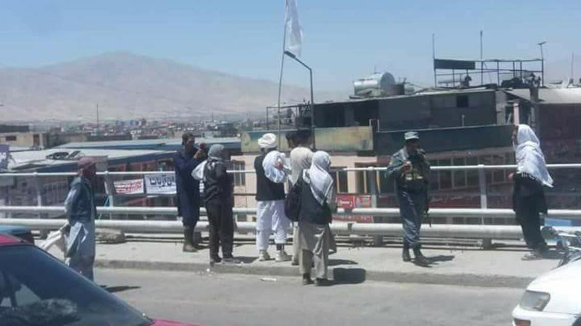 تصویری؛ افراد طالبان وارد شهر کابل پایتخت افغانستان شدند