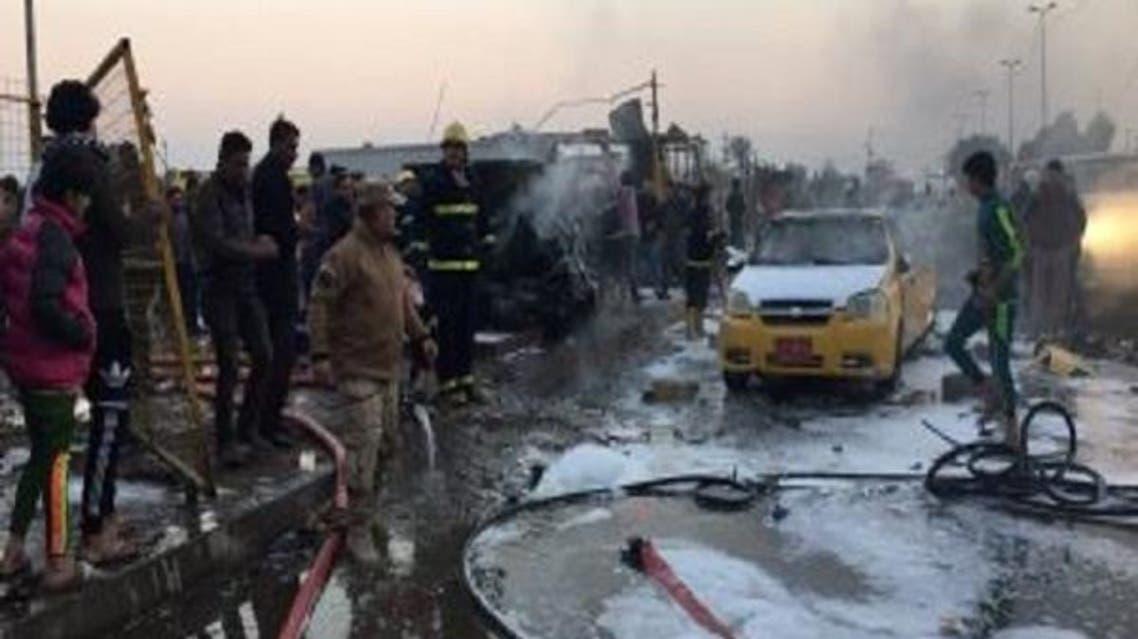 دو انفجار در غرب کرکوک عراق