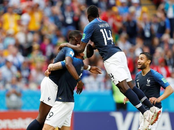 فرنسا تتجاوز أستراليا بهدف عكسي