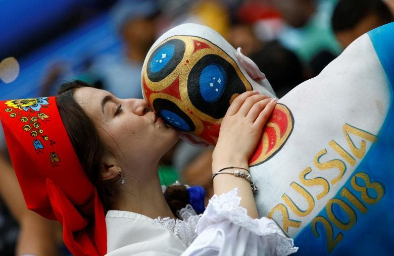 Fans from around the world in Russia for the World Cup