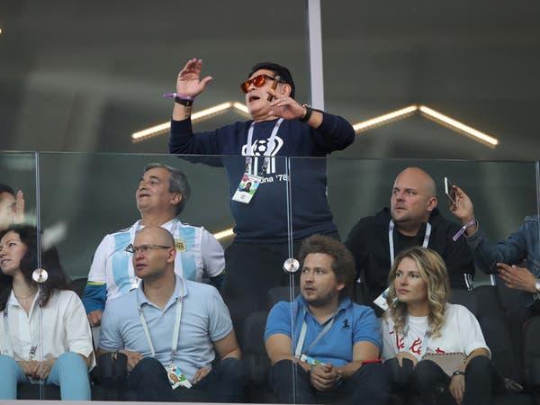مارادونا: لا بديل للأرجنتين عن الفوز أمام كرواتيا