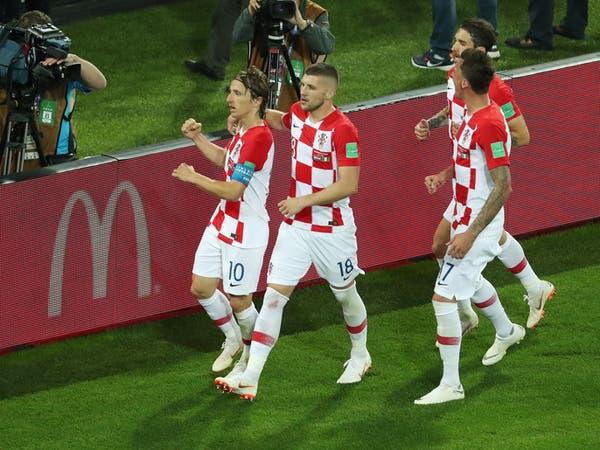 كرواتيا تبدأ مشوارها المونديالي بالفوز على نيجيريا