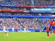 قذيفة كولاروف تمنح صربيا نقاط مباراة كوستاريكا