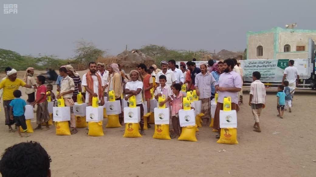 KSRelief continues distribution of food baskets in Hodeidah governorate