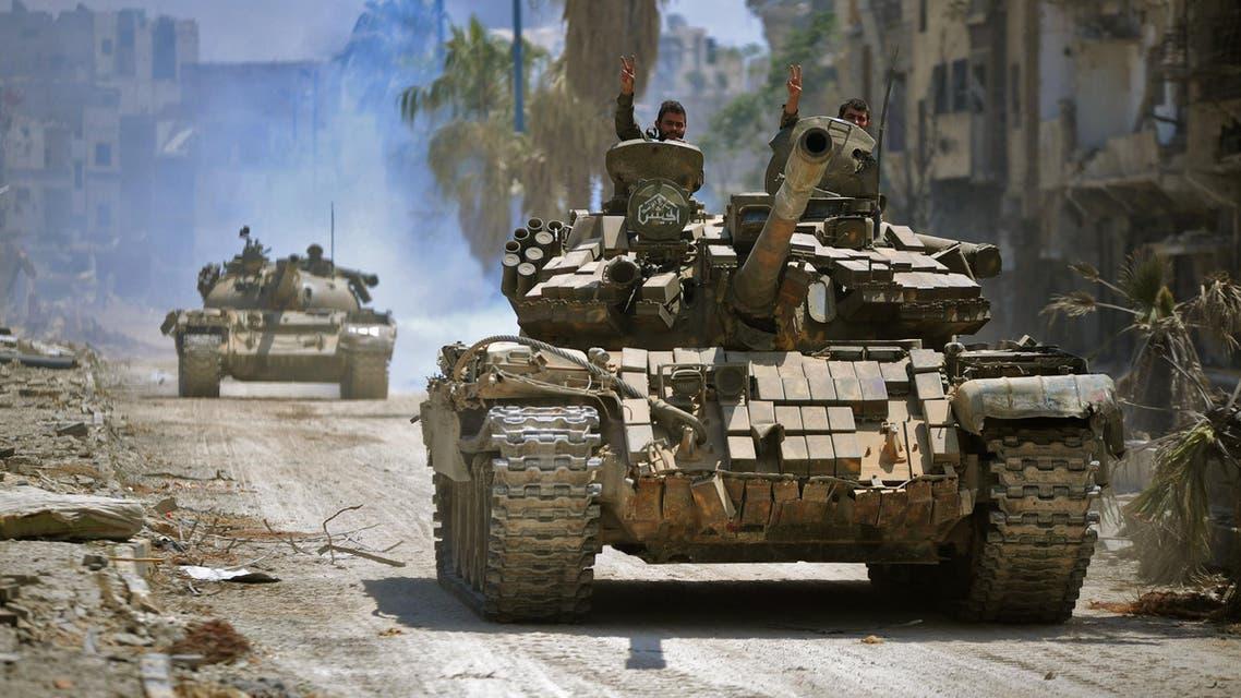 قوات النظام السوري - قوات الأسد - سوريا 3