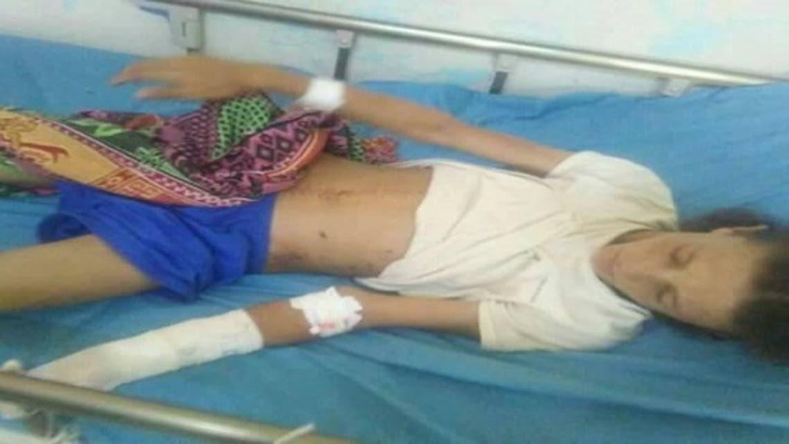 احد ضحايا مجزرة الحوثيين في الضالع