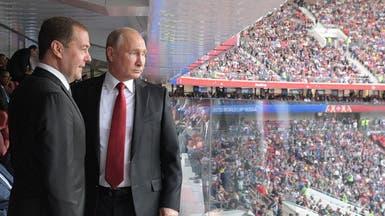 الكرملين يعلن عدم حضور بوتين لمباراة روسيا ومصر