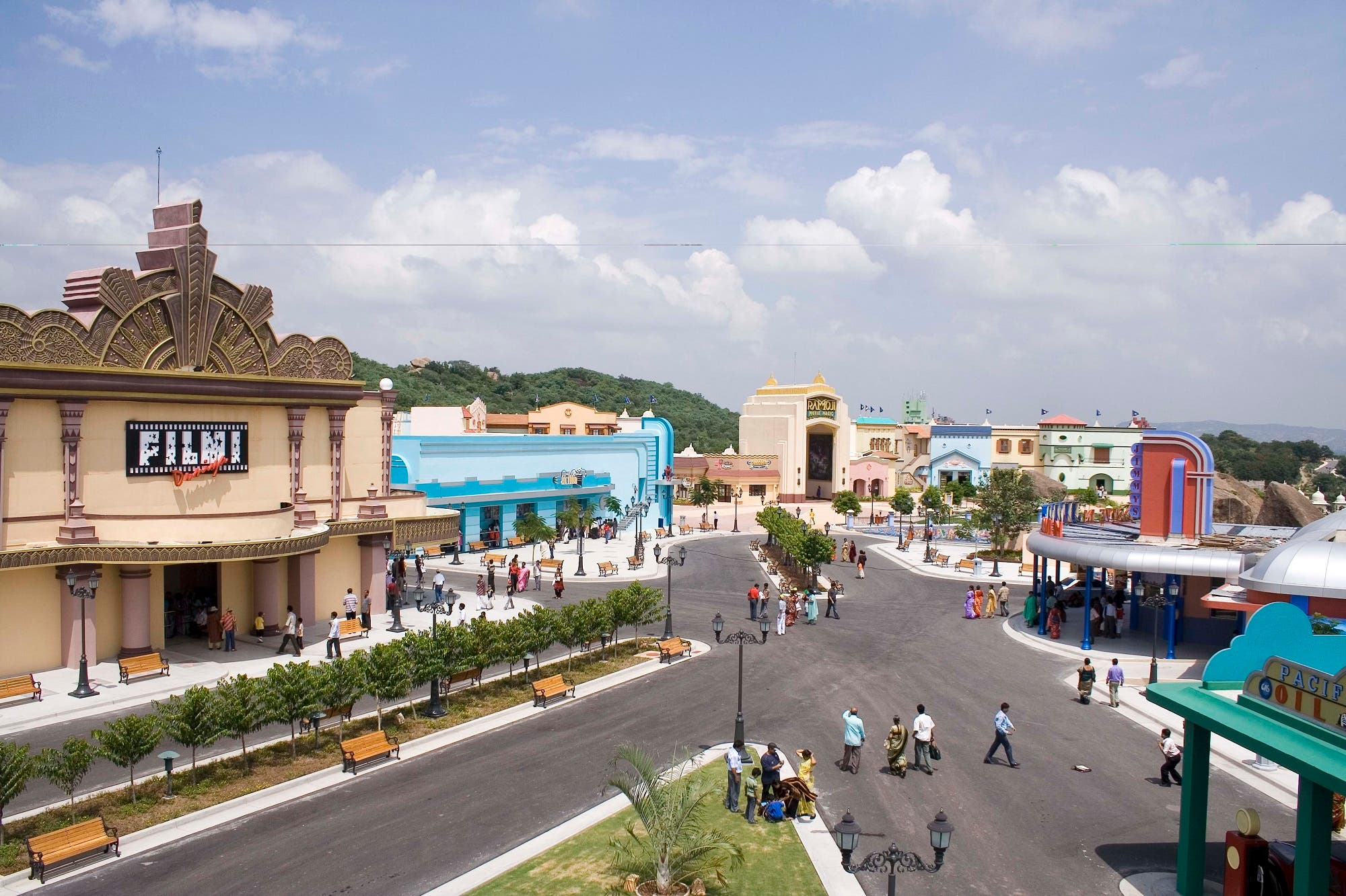 Ramoji Film City has also launched an adventure land named Sahas. (Supplied)