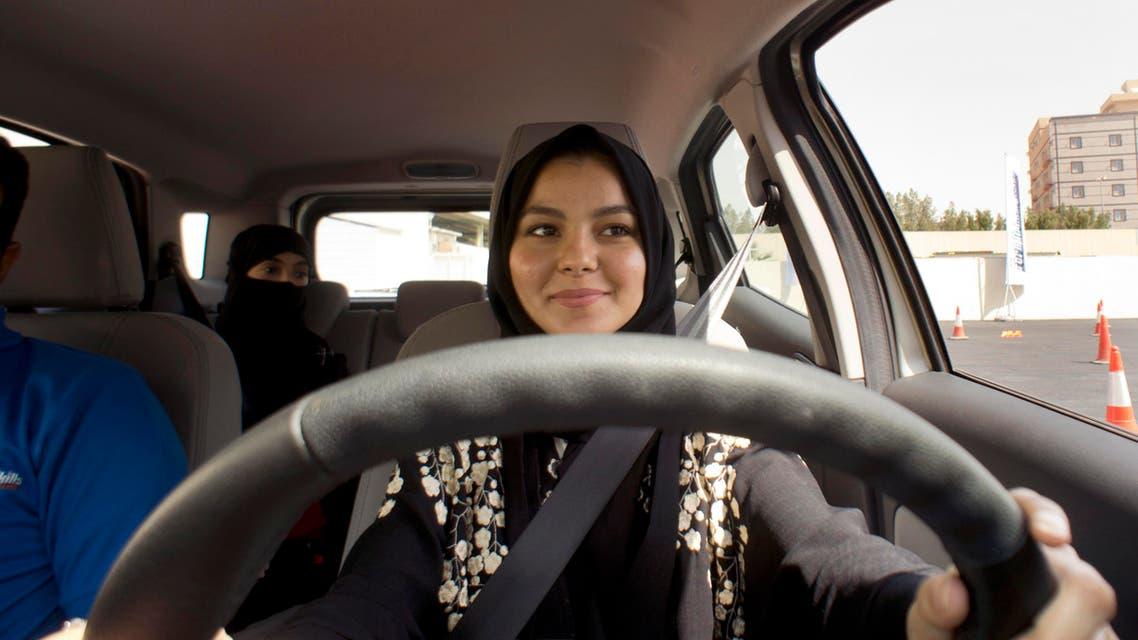 Saudi women driving. (AP)
