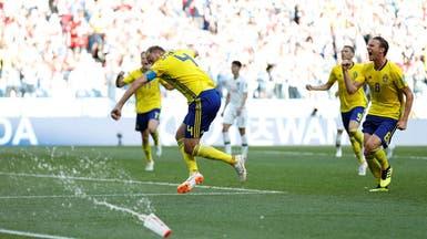 السويد تهزم كوريا بفضل جزائية القائد غرانكفيست