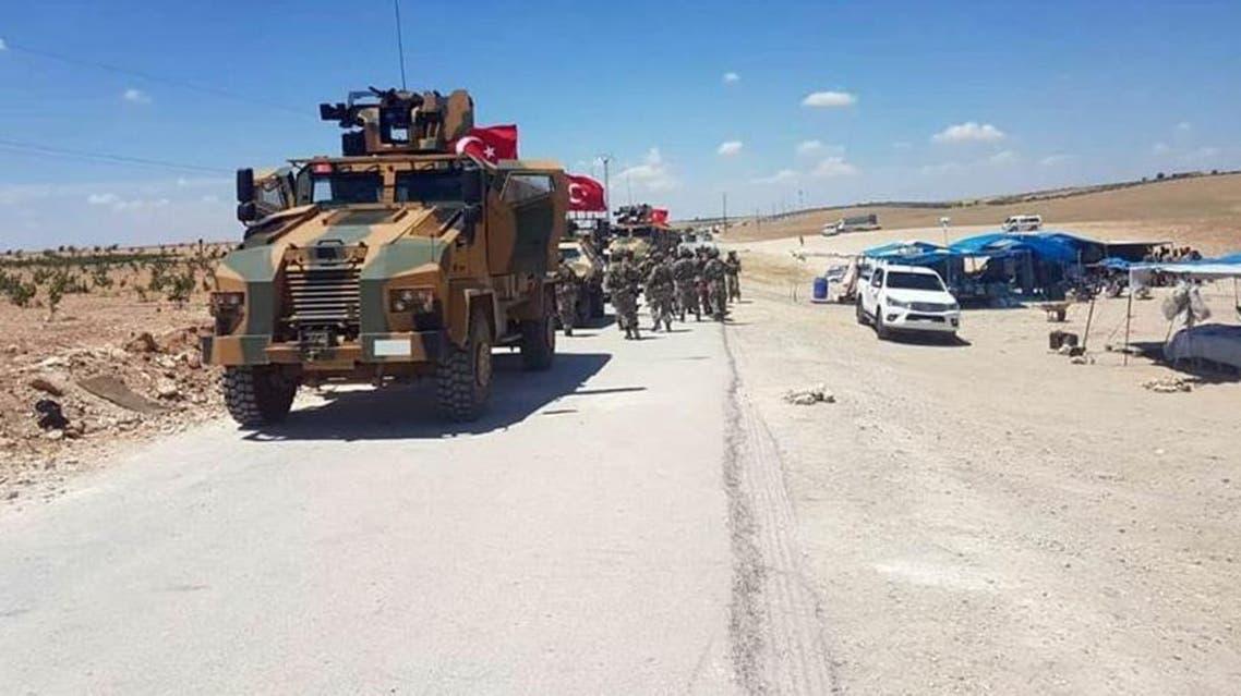 turkish military syria