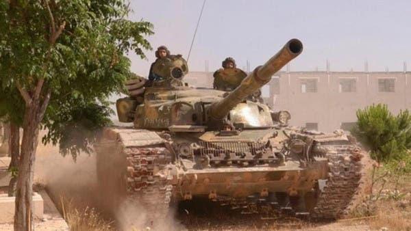عناصر من قوات النظام السوري (أرشيفية)