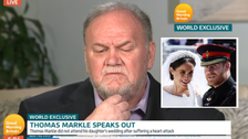 WATCH: Meghan Markle's father sorry to have missed royal wedding